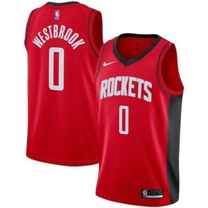 NBA Men's Houston Russell Westbrook 0 Jersey